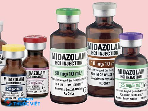 Thuốc Midazolam là gì và sử dụng như thế nào?