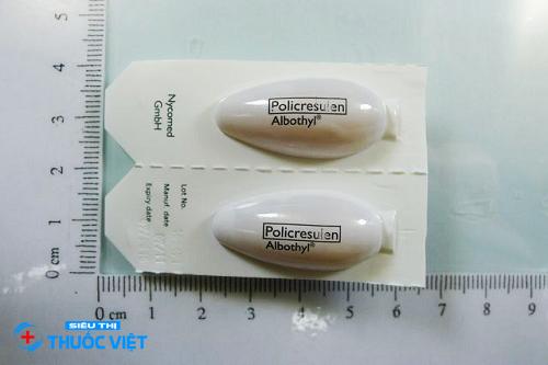 Tổng quan về thuốc Policresulen