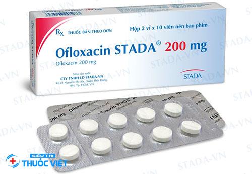 Sử dụng thuốc ofloxacin cần có sự chỉ định của bác sĩ