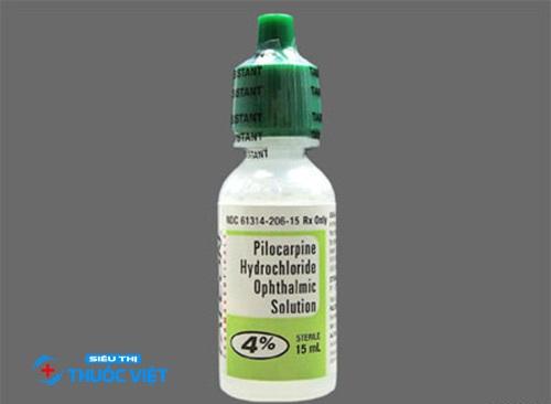Tìm hiểu về cách sử dụng thuốc nhỏ mắt Pilocarpin