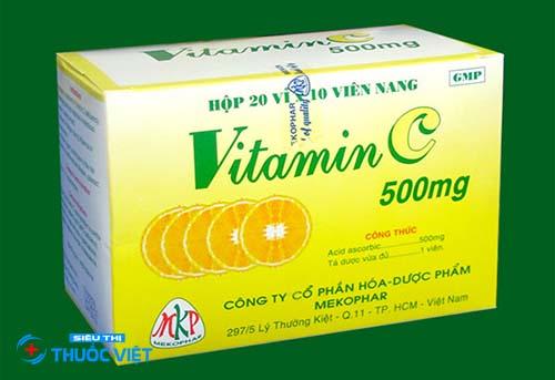 Vitamin C 500mg tăng cường sức đề kháng cho con người