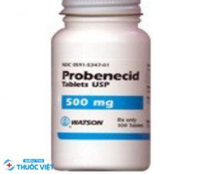 Probenecid giúp điều trị bệnh gút thứ cấp