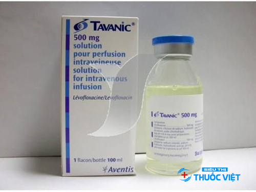 Tavanic được bào chế dưới 2 dạng: viên và dung dịch tiêm truyền