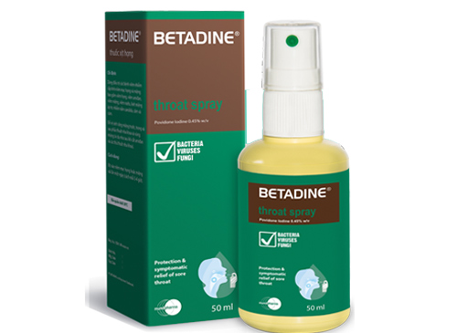Chống chỉ định của betadine