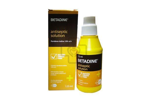 Tính chất của betadine là gì?