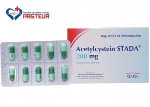 Tác dụng không mong muốn của Acetylcystein