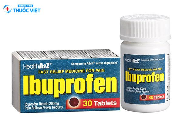 Thuốc ibuprofen trên thị trường hiện nay