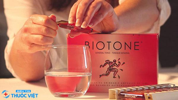 Thuốc Biotone cần sử dụng theo đúng liều lượng theo quy định