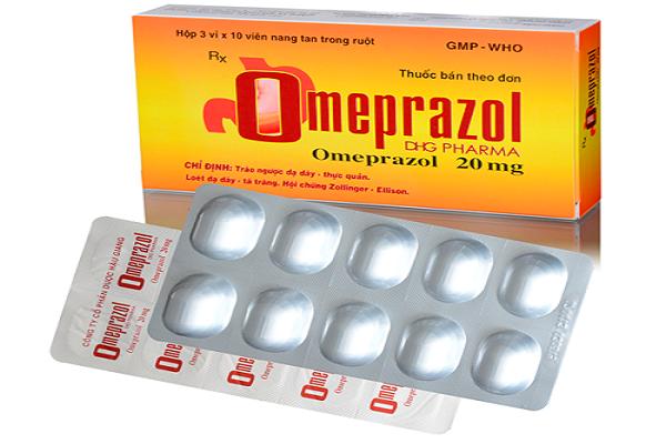 Thuốc omeprazole thay đổi liều dùng tùy theo đối tượng sử dụng