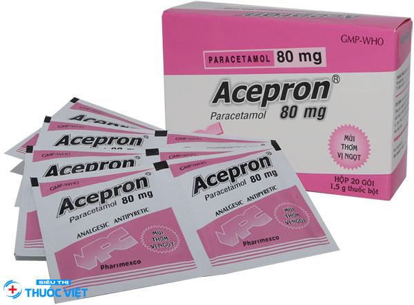 Thuốc Acepron® 80mg