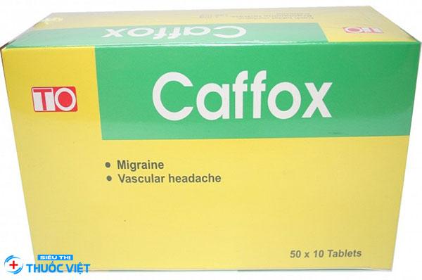 Caffox® thuộc nhóm thuốc trị đau nửa đầu