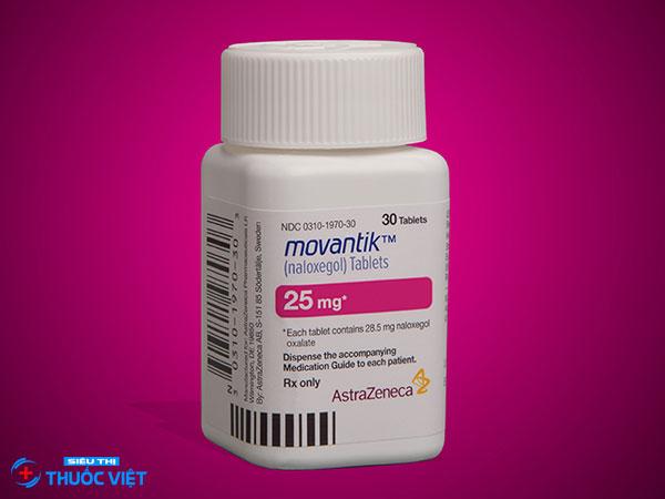 Thuốc Naloxegol